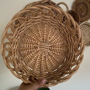 Medium/ large basket perfect for wicker wall decor